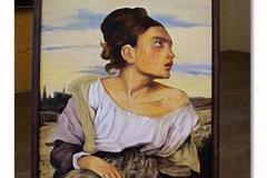 Studie malby,   Delacroix  kopie
