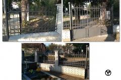 plotové dílce, brána