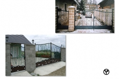 kované brány