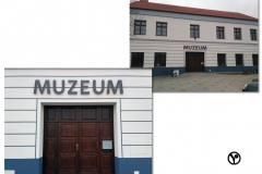 nápis muzeum