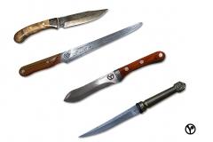 damascénské nože